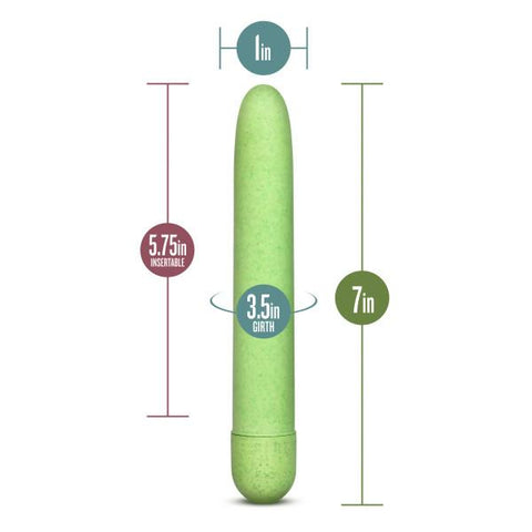 Gaia Eco Biodegradable and Recyclable Vibrator  Classic Vibrator Blush Novelties Peepshow Toys