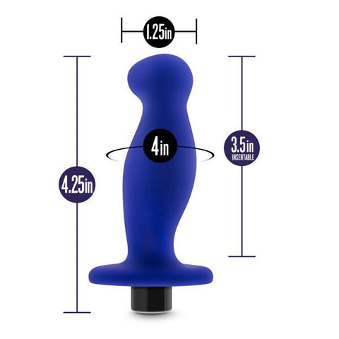 Blush Performance Plus Factor Vibrating Butt Plug  Vibrating Anal Plug Blush Novelties Peepshow Toys