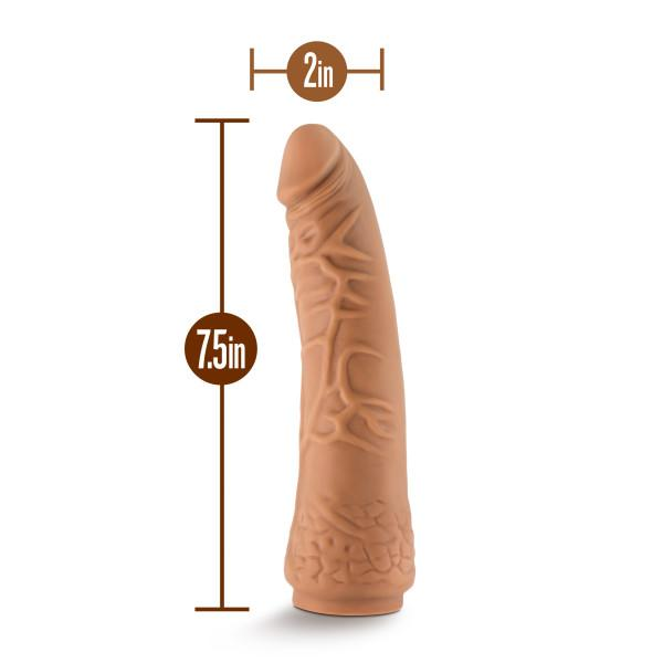 The Realm 7.5 Inch Realistic Silicone Lock On Dildo  Realistic Dildo Blush Novelties Peepshow Toys