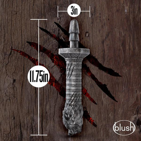 Realm Rougarou Werewolf Dildo Sword Handle by Blush   Blush Novelties Peepshow Toys