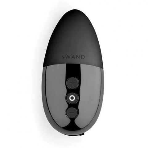 Le Wand Chrome Collection Point Elegant Rechargeable Vibrator - Hamilton Park Electronics