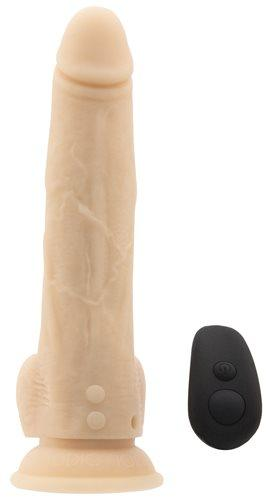 BMS Factory Naked Addiction 8 Inch Thrusting Dildo with Suction Cup  Thrusters & Pulsators BMS Peepshow Toys