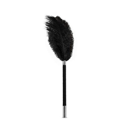 Blush Noir Soft Feather Tickler  Tickler Blush Novelties Peepshow Toys