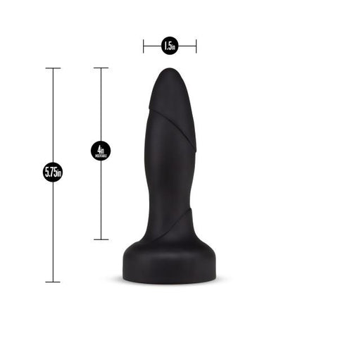 Blush Performance Plus Drive Rimming Butt Plug with Remote Control  Vibrating Anal Plug Blush Novelties Peepshow Toys