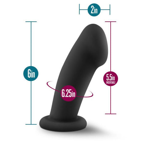 Temptasia Elvira Silicone Dildo by Blush Novelties  Dildo Blush Novelties Peepshow Toys