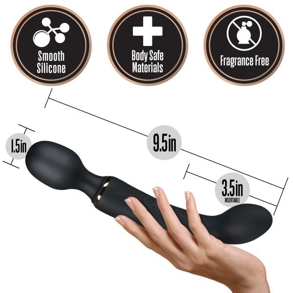 Blush Lush Gia 2-Way Wand Massager & G-Spot Stimulator  Wand Massager Blush Novelties Peepshow Toys