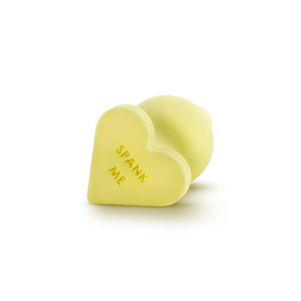 "Naughty Candy Heart Butt Plug - ""Spank Me"""