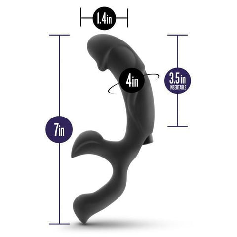 Blush Novelties Performance Plus Adonis Vibrating Silicone Prostate Massager  Prostate Massager Blush Novelties Peepshow Toys