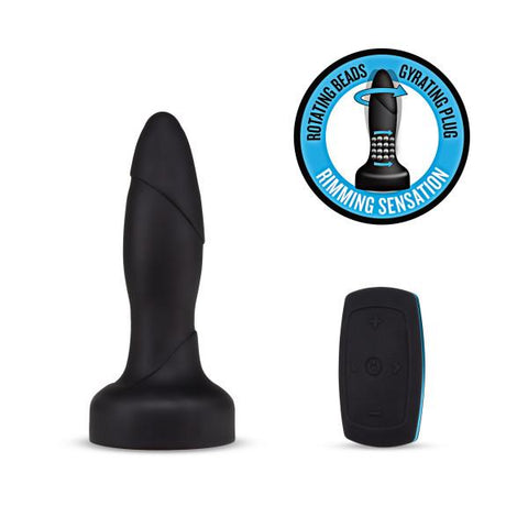 Blush Performance Plus Drive Rimming Butt Plug with Remote Control - Hamilton Park Electronics