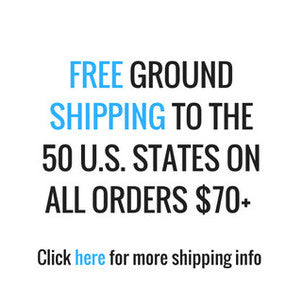 Free ground shipping in US on orders over $70