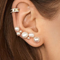 Alloy Plain E-Plating Party Earrings