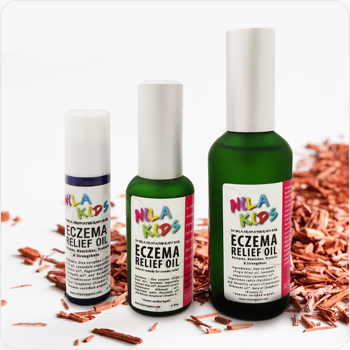 Nila Kids Eczema Relief Oil