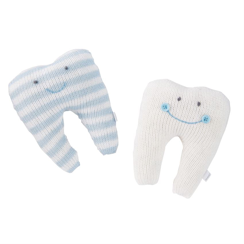 Knitted Tooth Pillows