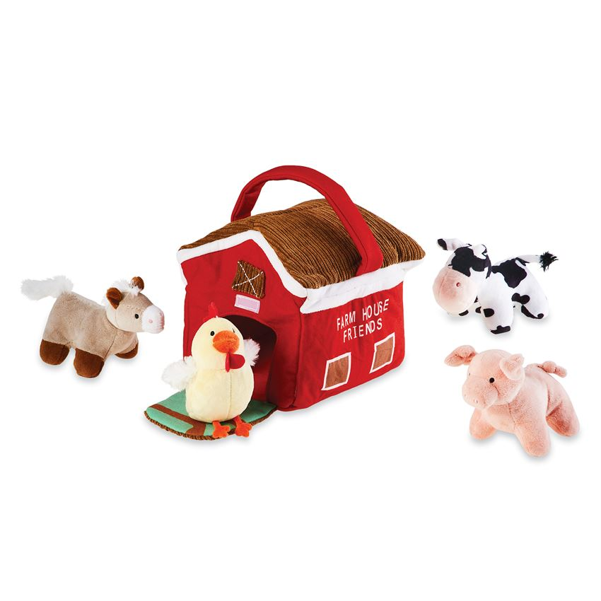 Plush Farm Friends Set