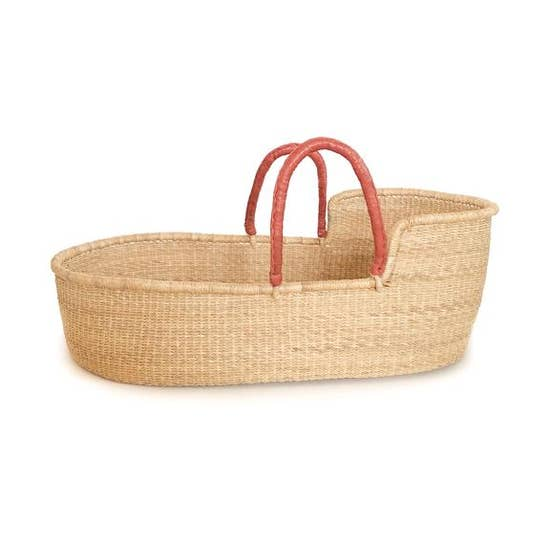 Moses Basket - Pelu Brown