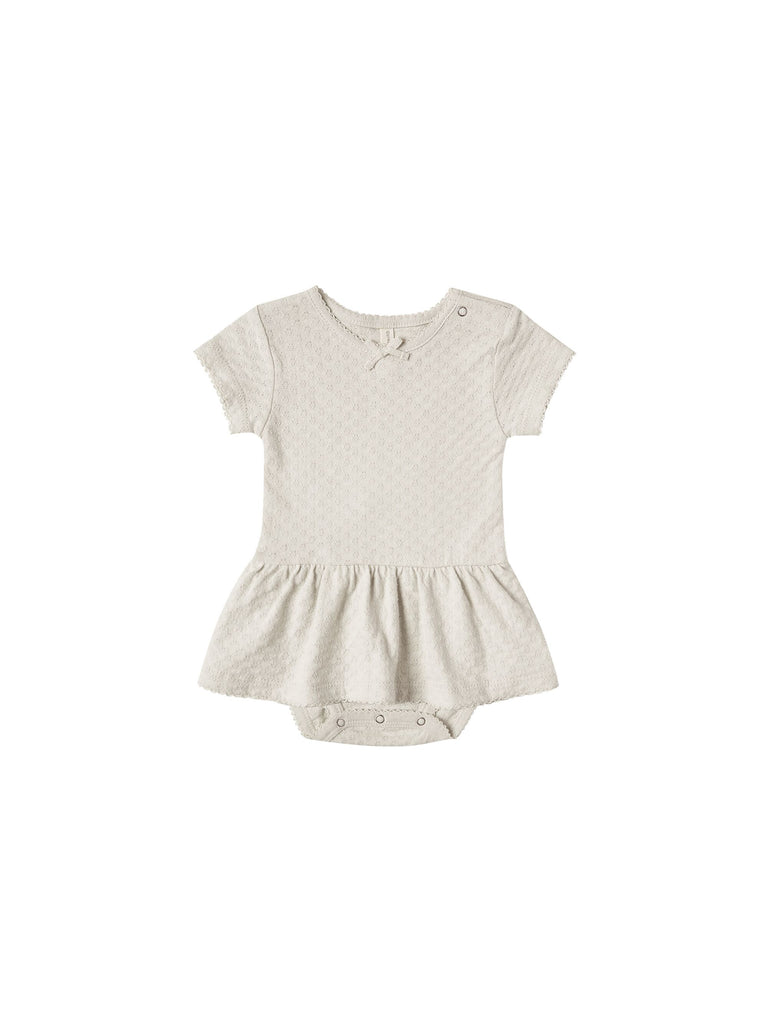 Pointelle Skirted Onesie