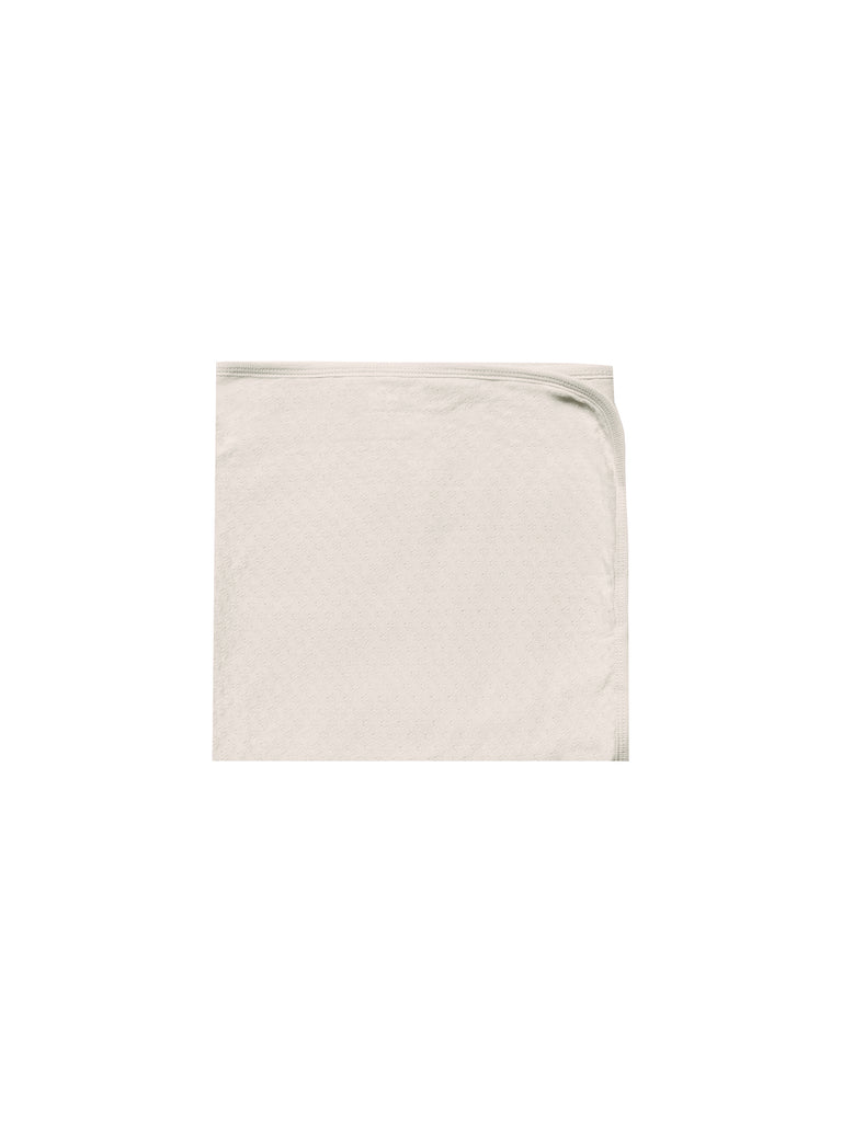 Pointelle Baby Blanket - Natural
