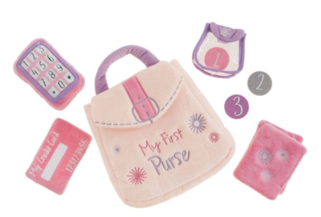 My First Purse Plush Set