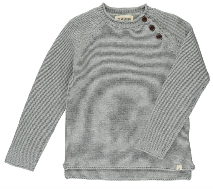 Grey Cotton Sweater
