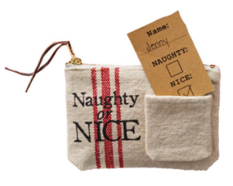 Naughty Or Nice Gift Pouch
