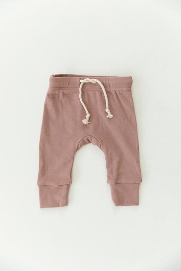 Cotton Jogger Pants - Blush