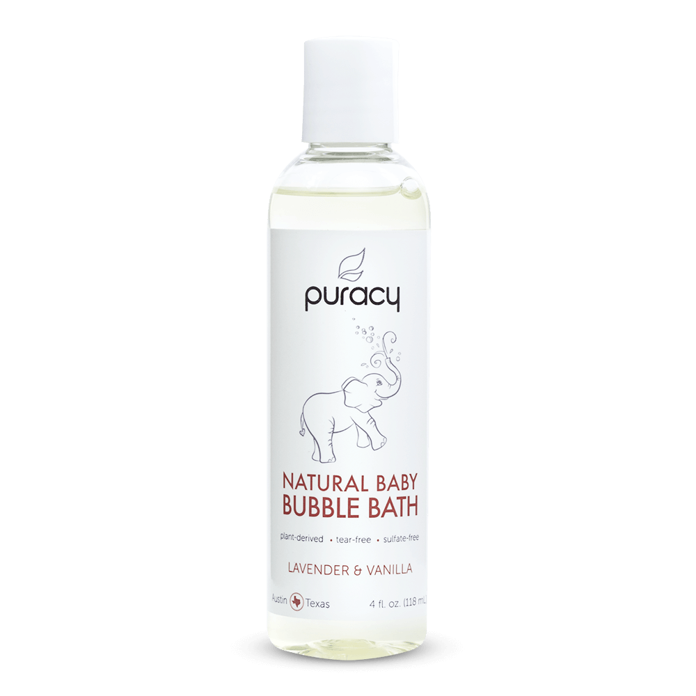 Natural Baby Bubble Bath - Lavender and Vanilla