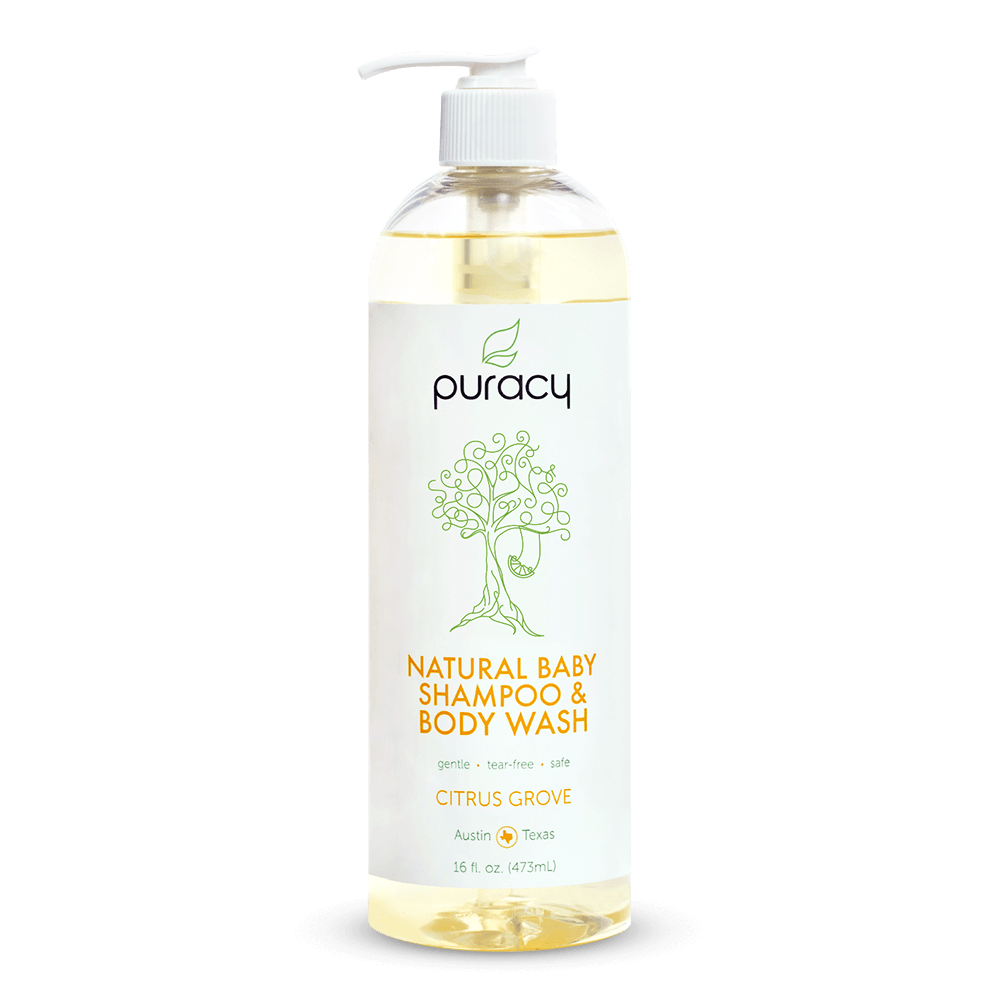 Natural Baby Shampoo & Body Wash - Citrus Grove