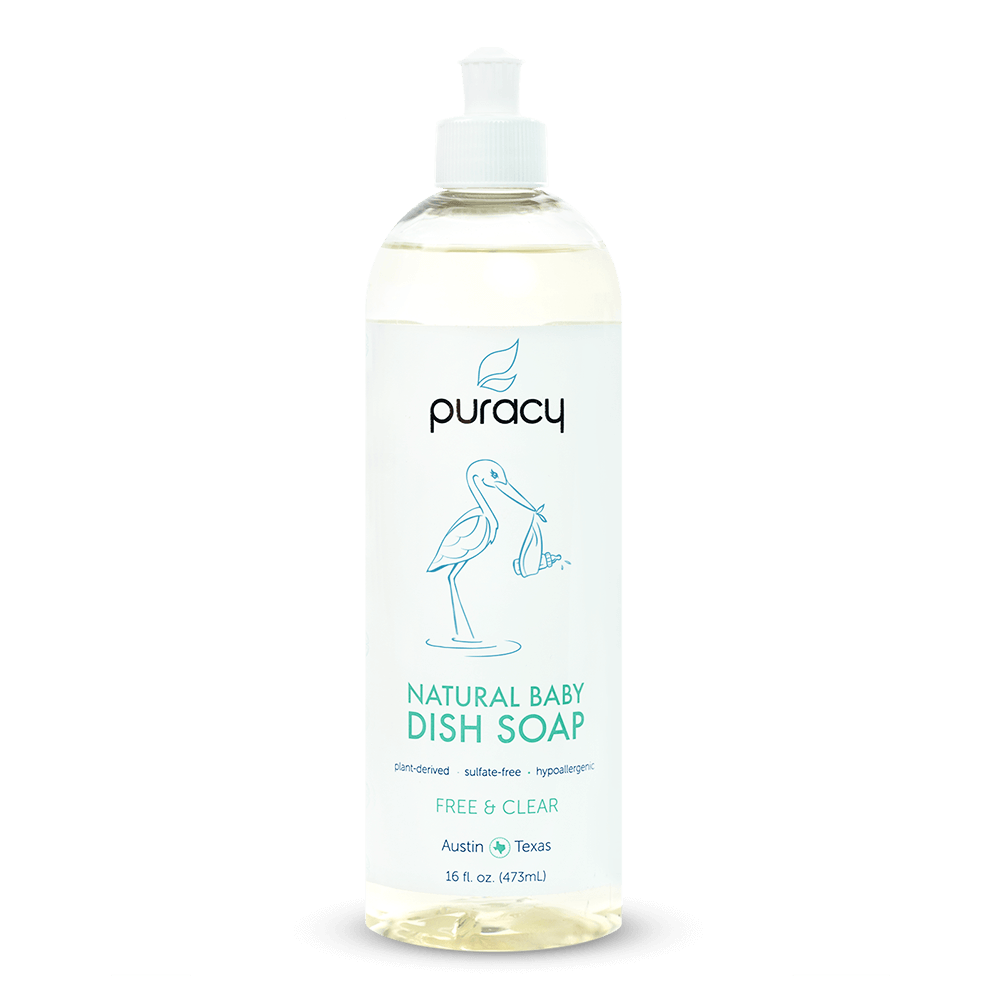 Natural Baby Dish Soap - Free & Clear