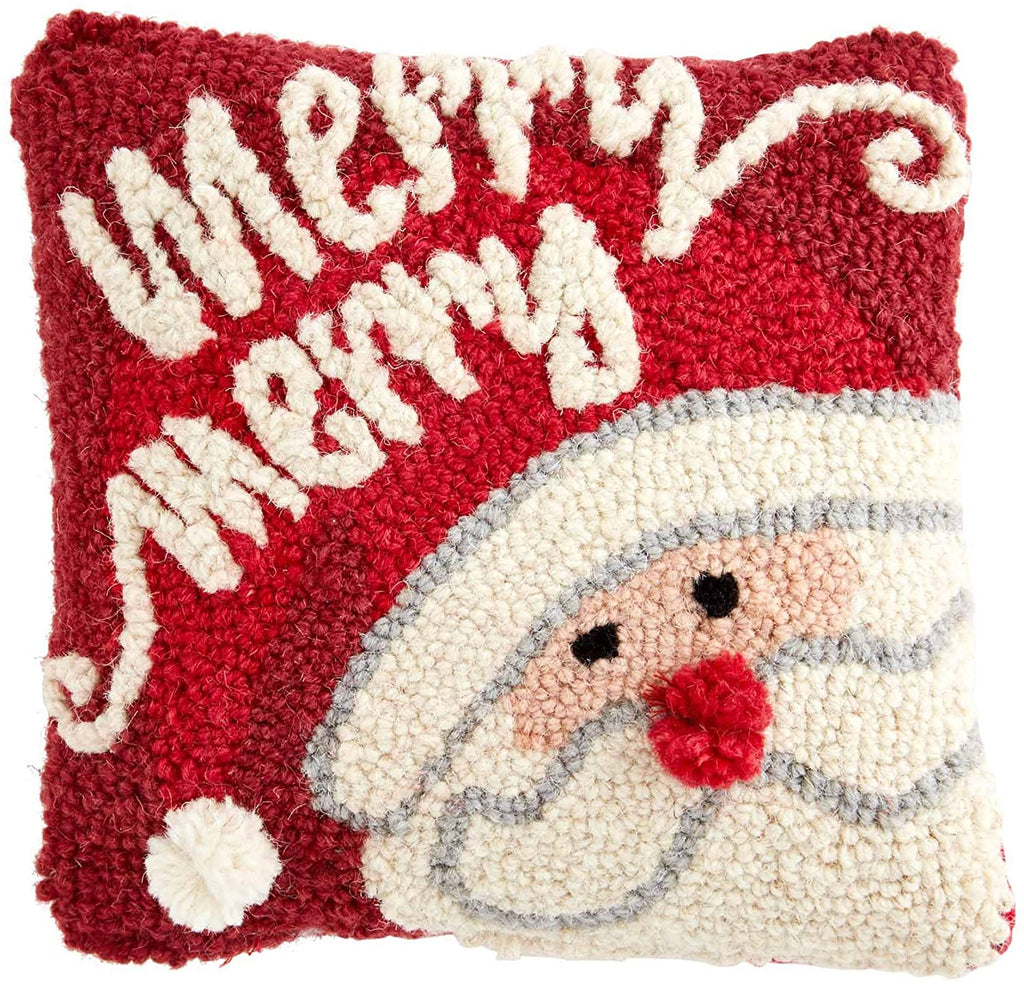 Merry Christmas Santa Pillow
