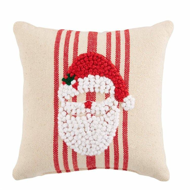 Knotted Santa Pillow