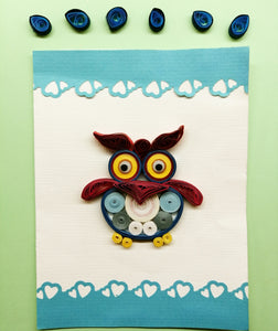 Quirky Owl (Single card)