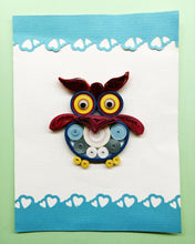 Load image into Gallery viewer, Quirky Owl (Single card)