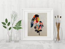 Load image into Gallery viewer, Colourful Bird paintings