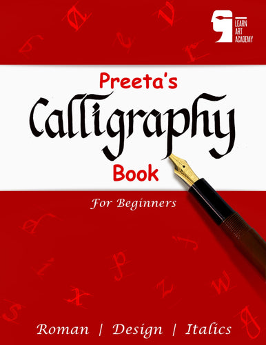 Preeta's Calligraphy Book