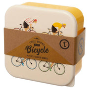 Cycle Works Nesting Lunch Boxes - Lunch Box  Mustard and Gray Ltd Shropshire