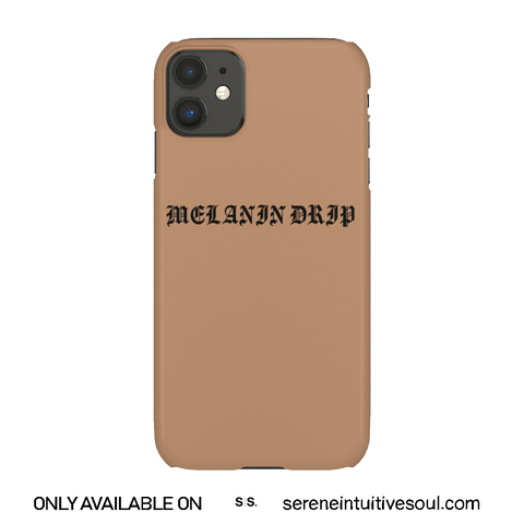Melanin Drippin' Phone Case - in Toffee