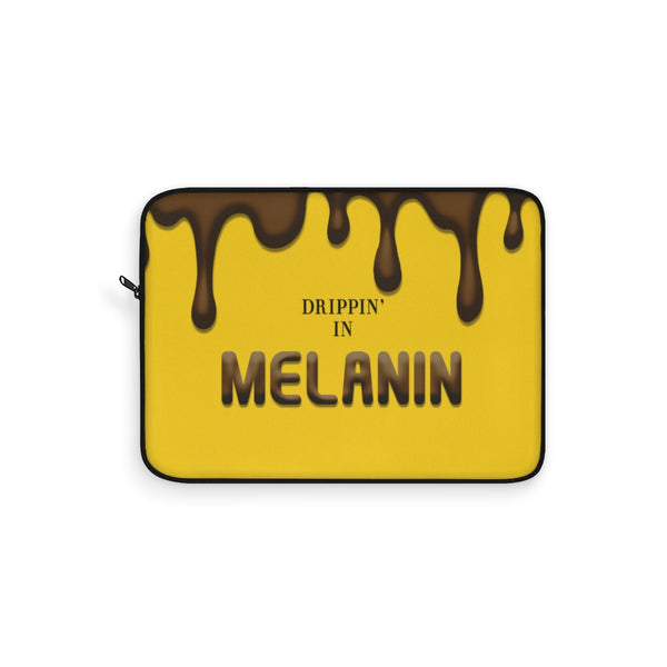 Drippin In Melanin Laptop Sleeve