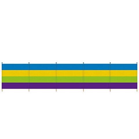 Yello Outdoor Thick Stripe Windbreak - 6 Pole