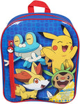 OFFICIAL POKEMON PIKACHU FILLED LARGE BACKPACK SET