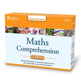Learning Resources Maths Comprehension Cards