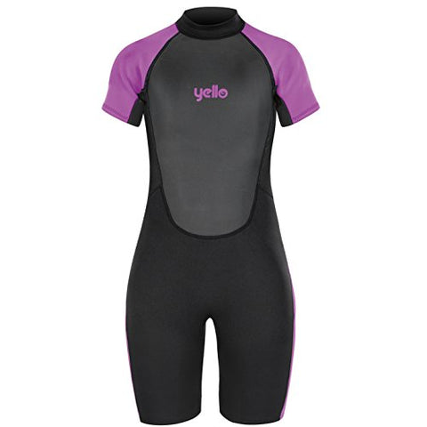Yello Women's Short Wetsuit Purple XL