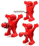 Happy Man Bottle Opener Wine Bottle Stopper/Corkscrew