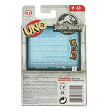 Mattel Games Uno Jurassic World Family Card Game