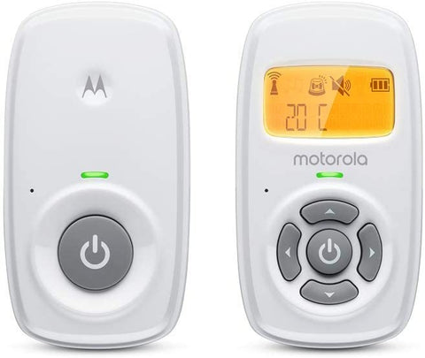 Motorola MBP24 Audio Baby Monitor - Two-Way Talk