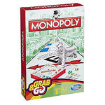 Hasbro Gaming Monopoly Grab & Go Game