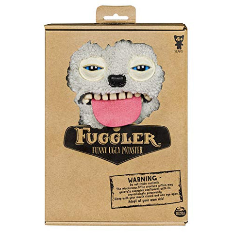 Fuggler Ugly Funny Monster Sir Belch Fuzzy Grey
