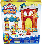 PLAY-DOH Town Firehouse Playset (Multi-Colour)