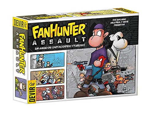 Thames & Kosmos Fanhunter Assault Card Game BGFHAS