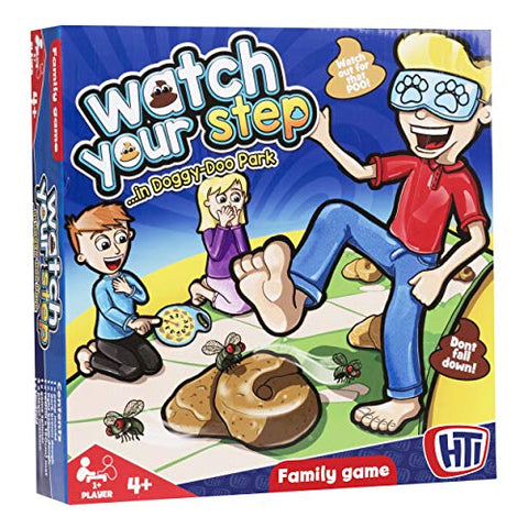 HTI Toys Watch Your Step Family Board Game