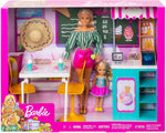 Barbie GBK87 Dolls and Gelato Cafe Playset